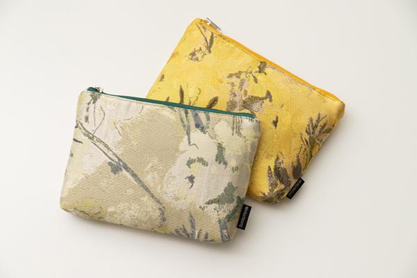 幸せを感じるポーチ 川島織物セルコン